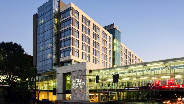 SURVISION LPR Cameras allow frictionless exit for Emory Hospital in Atlanta